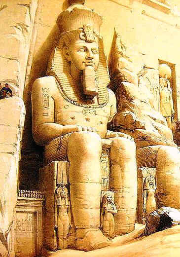 Sculpture at Abu Simbel