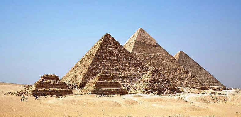 All of the Giza Pyramids