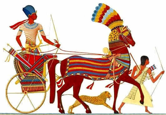 Hyksos rulers - Horse and chariot