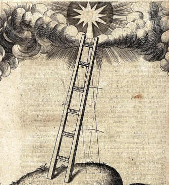 Robert Fludd's giant ladder as a symbol of ascension