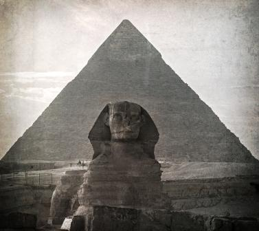 Great Pyramid and the Great Sphinx