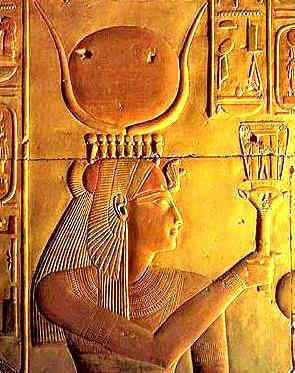 Hathor with Sistrum