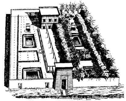 Ancient Egyptian House in Thebes