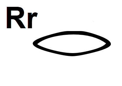 Hieroglyphic Symbol for the Letter R