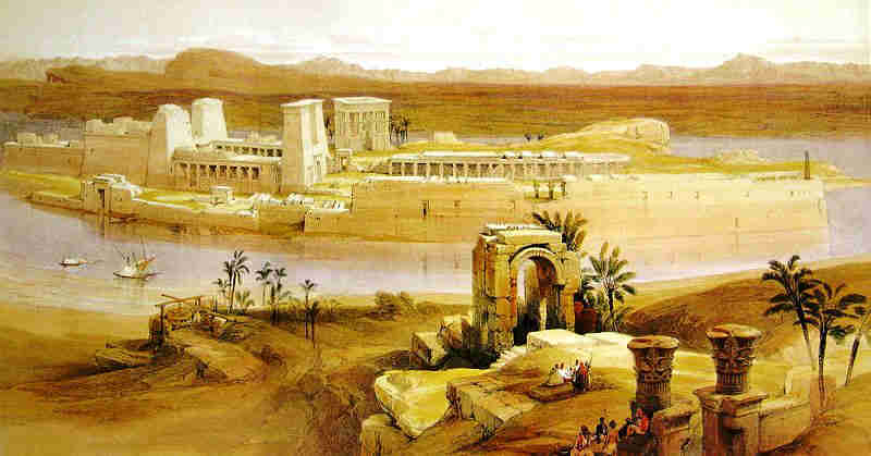 Nile Temple at Philae