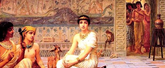 Queens of Egypt: Egyptian Queen in Harem