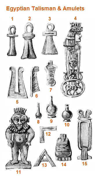 Ancient Egyptian Talisman and Amulets